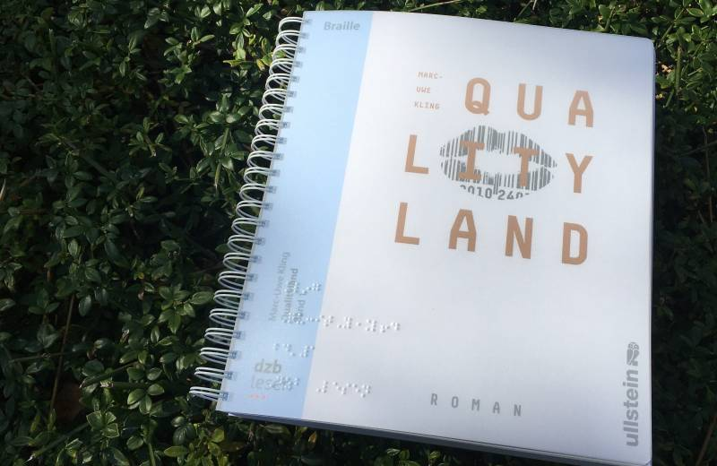 Cover Braille-Buch QualityLand